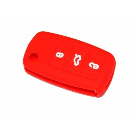 Housse silicone Rouge pour VW