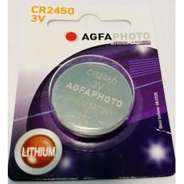 Pile de qualité CR2450 AGFA