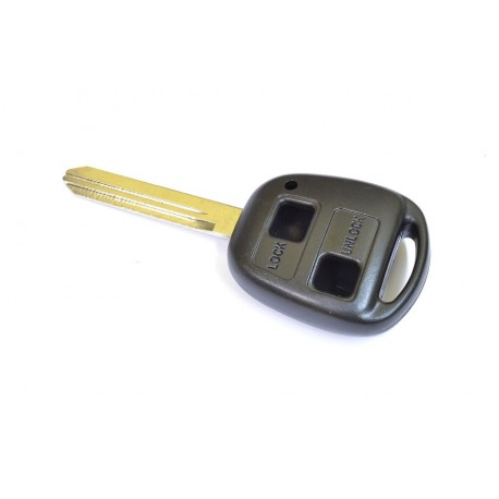 Coque plip Toyota 2 boutons lame 3